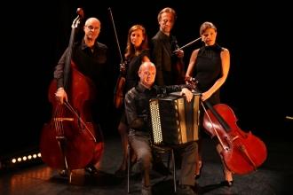 Pascal Contet et le Travelling Quartet (1), crédit Georges Epp