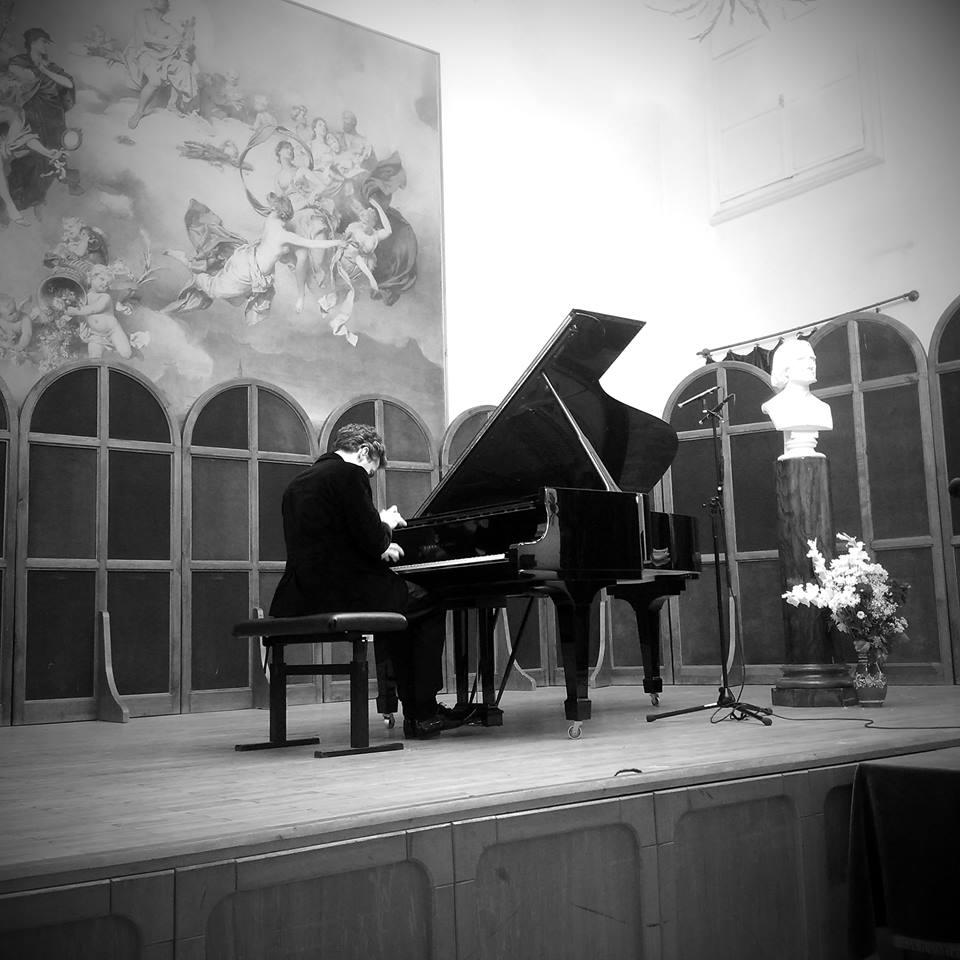 Goran Filipec au Liszt Ferenc Memorial Museum