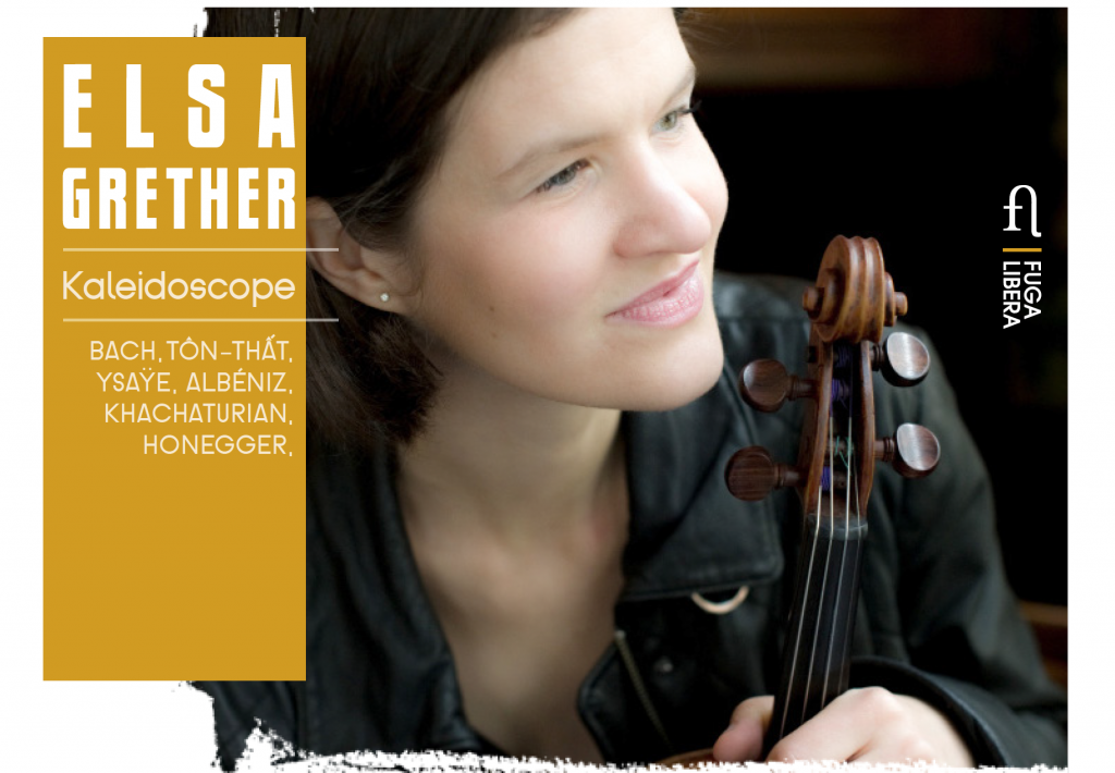CD Kaléidoscope Elsa Grether